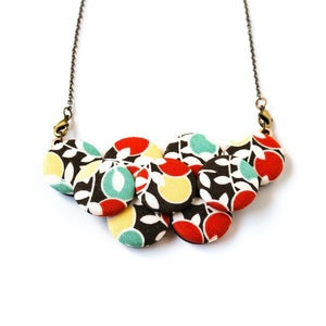 Image of Modern Garden Statement Necklace