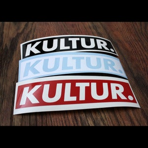 Image of Kultur Box Logo - Sticker