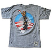 Image of Undrcrwn Dunking Obama Tee (2008)