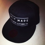 Image of Classic Raw Caviar &quot;Self Made&quot; Black Snapback 