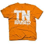 Image of Tennessee Raised - TN Orange & White