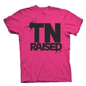 Image of Tennessee Raised - FEMALE Hot Pink & Black