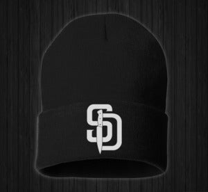 Image of SD Knife Beanie (Black)