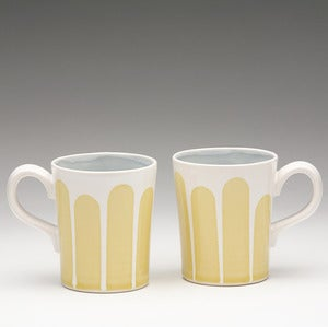 Image of Striped short Mugs