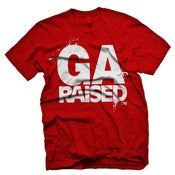 Image of Georgia Raised - GA Red & White
