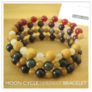 Image of Moon Cycle Timepiece Bracelet | Stone | One of a Kind | #1308
