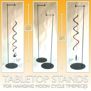 Image of Tabletop Stands | For Hanging Moon Cycle Timepieces