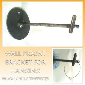 Image of Wall Mount Bracket | For Hanging Moon Cycle Timepieces