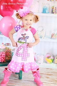 Image of chimi BIG NUMBERbirthday dress only