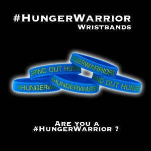 Image of #HungerWarrior Wristbands