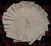 Image of Bundle of 25 Cotton Muslin Bags