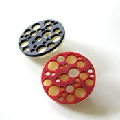 Image of POMEGRANATE pin (S)