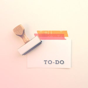 Image of To-Do | Rubber Stamp