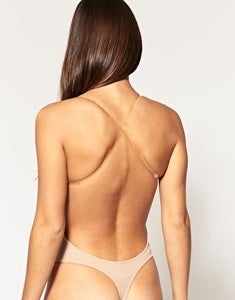 Image of Low Plunge Backless Body Suit