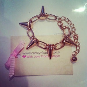 Image of Gold Spike Bracelet