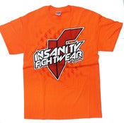 Image of IF Logo Tee FL Orange