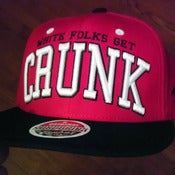 Image of White Folks Get Crunk Snapback