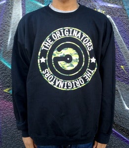 Image of CAMO LOGO CREW-NECK