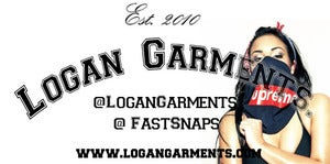 Image of Logan Garments Stickers (Pack Of 10 Stickers) Design 1