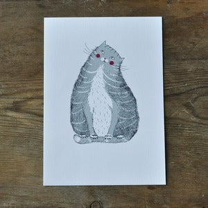 Image of Print ~ Moggy