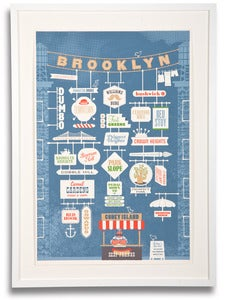 Image of Brooklyn City Print