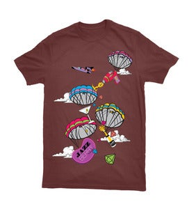 Image of Parachute Party Maroon