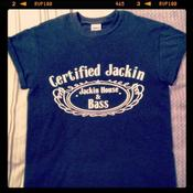 Image of 'CERTIFIED JACKIN'  T-SHIRT