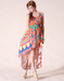 Image of High to Low Tribal Print Dress