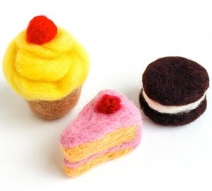 Image of Assemble Crafting Kit: Needle-Felted Sweets