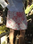 Image of Toile Linen Skirt