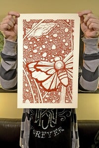 "Image of ""Arrowhead"" limited edition screen print"