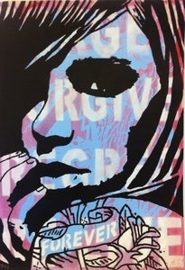 "Image of ""Forever"" - Hand finished Test Proof screen print 2/2 by Copyright"