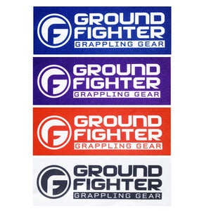 "Image of Ground Fighter ""Logo"" Gi Patches"
