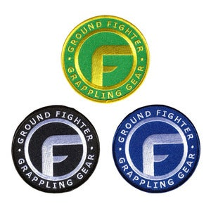 "Image of Ground Fighter ""The Icon"" Gi Patches"