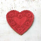 Image of NEW - Red Heart Doilies
