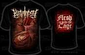 Image of Katalepsy - Flesh is only the cage t-shirt