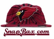 Image of Vintage Deadstock Arizona Cardinals Starter Collision Snapback Hat Cap