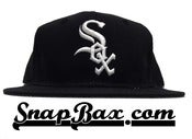 Image of Vintage Deadstock Chicago White Sox Twill Sports Specialties Snapback Hat Cap