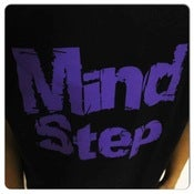 Image of MindStep Tee (Black/Purple Logo) 