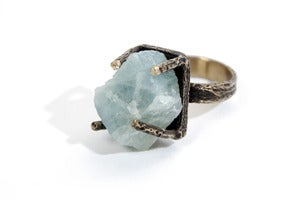 Image of Aquamarine Regal Ring