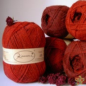 Image of Kauni 8/2 Effectyarn - EM - Rojo
