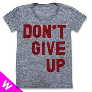 Image of DONT GIVE UP (WOMEN)