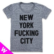Image of NEW YORK FUCKING CITY (WOMEN)