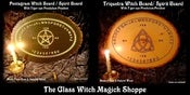 Image of Beautiful Witchmade Witch Boards & Spirit Boards: Triquetra & Pentagram
