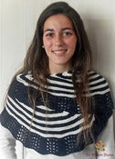 Image of Kit Chal Marinero - Diseño de Alba Cabrera / Kit Sailor Shawl - Designed by Alba Cabrera