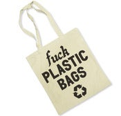 Image of F PLASTIC BAGS (TOTE BAG)
