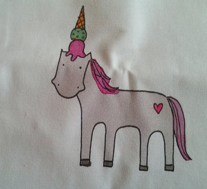 Image of Tote Bag: Unicone Unicorn