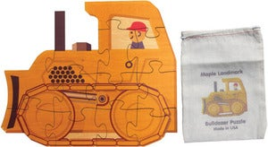 Image of Shaped Jigsaw Puzzle, Bulldozer