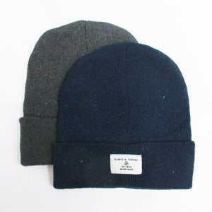 Image of Woven label Beanie