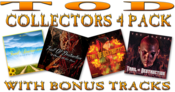 Image of TRAIL OF DESTRUCTION - COLLECTORS 4 PACK WITH BONUS TRACKS